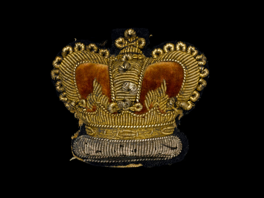 Detail of Cap badge by unknown