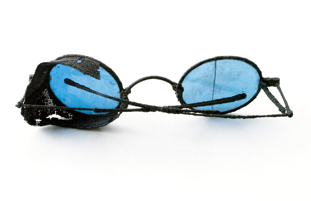 Detail of Tinted spectacles by unknown