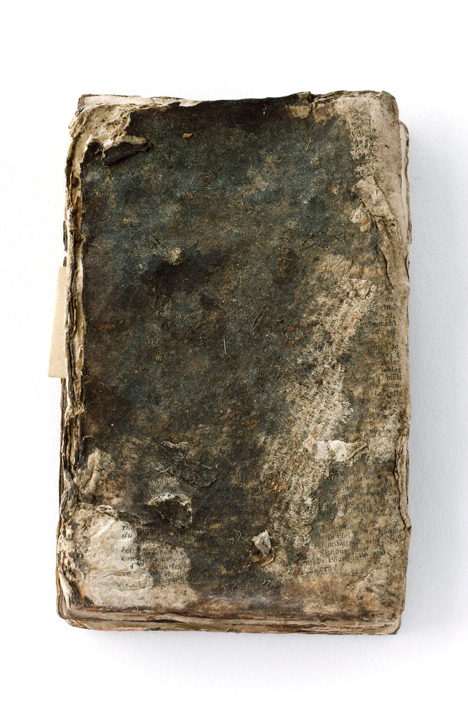 Detail of French New Testament' back by unknown