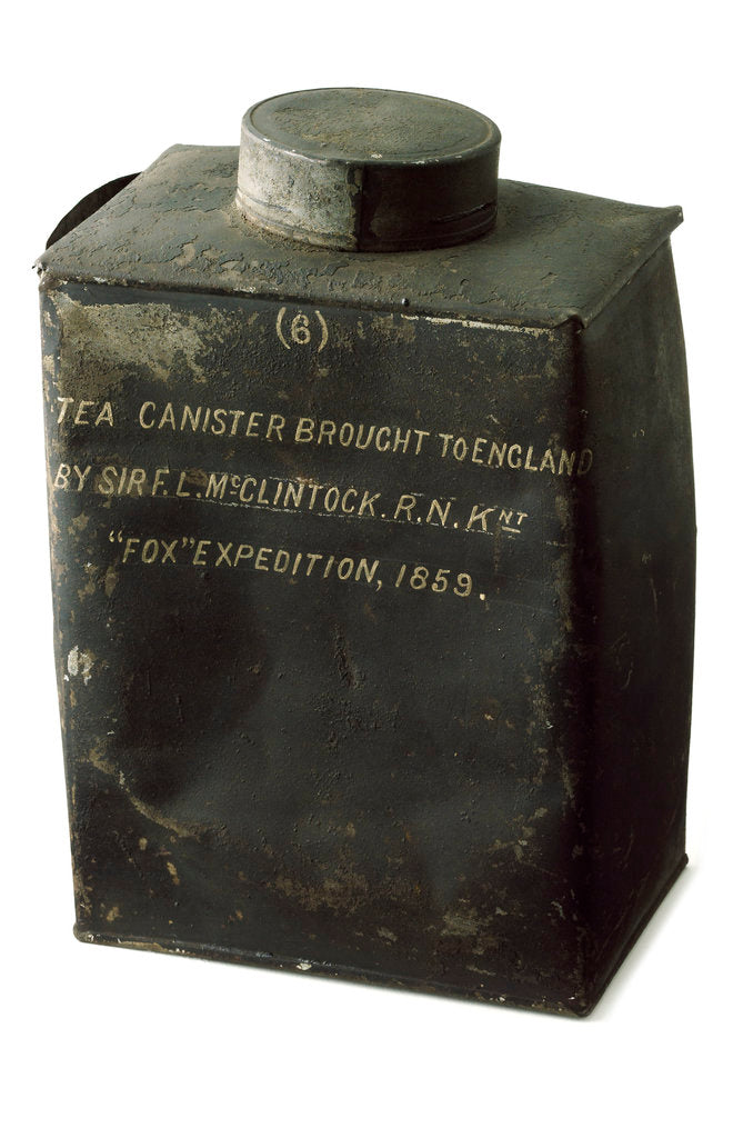 Detail of Tea canister by unknown