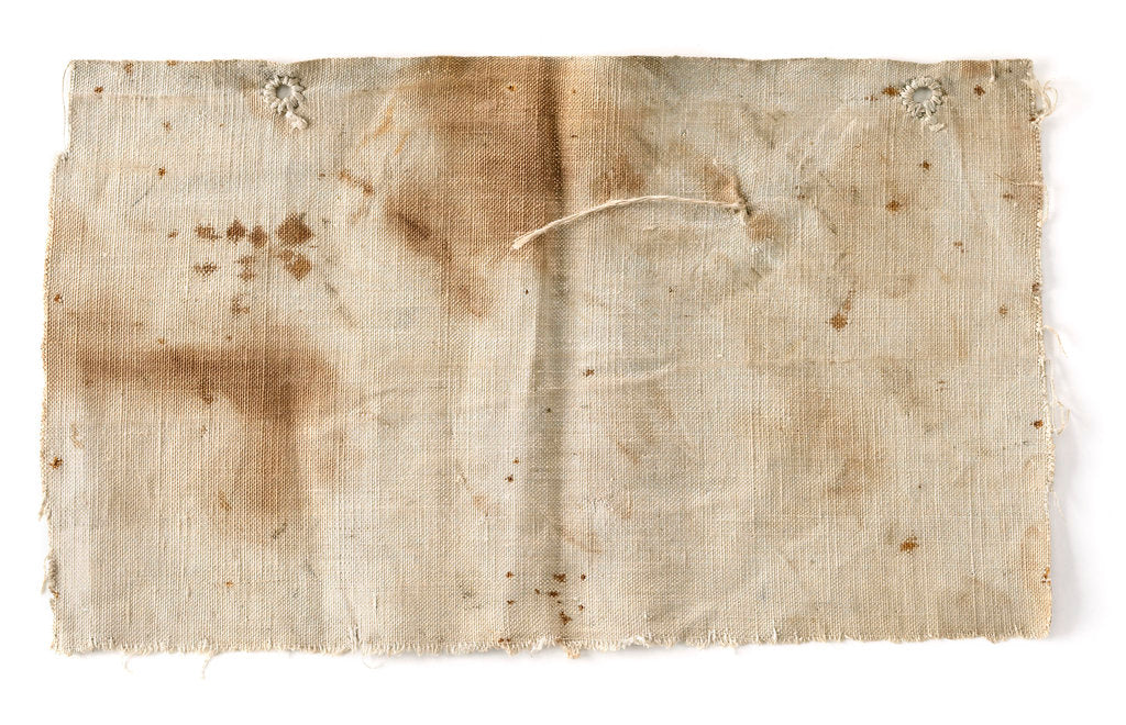 Detail of Boat weather cloth by unknown