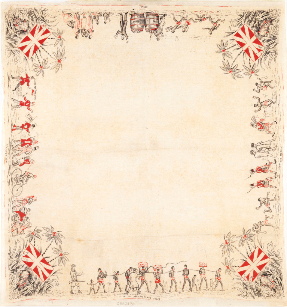 Detail of Handkerchief by unknown