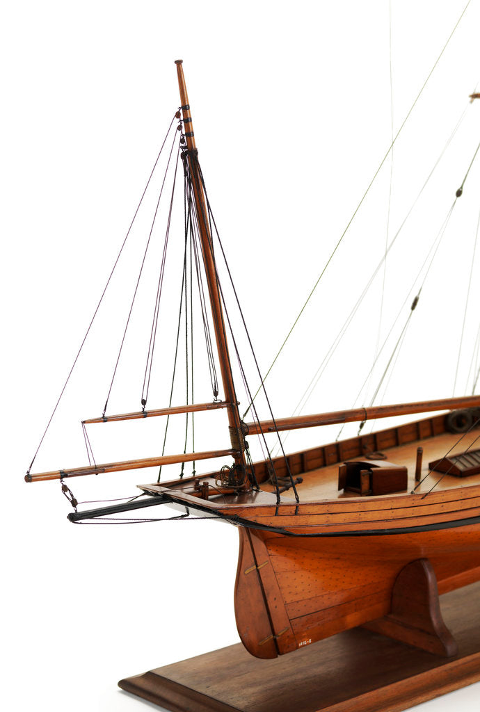 Detail of A two masted sailing vessel 'Dandy' (circa 1825) by unknown