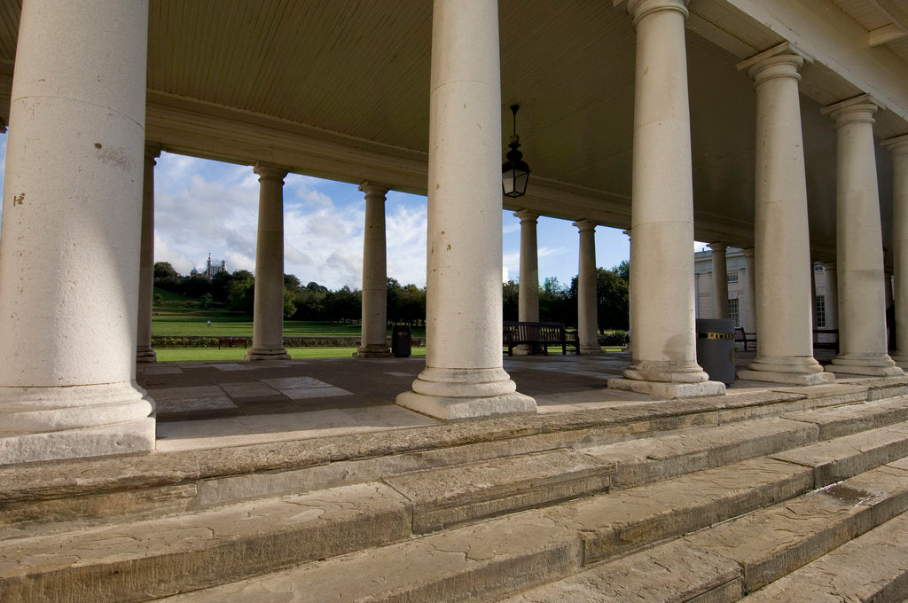 Detail of Colonnade at National Maritime Museum, Greenwich by National Maritime Museum Photo Studio
