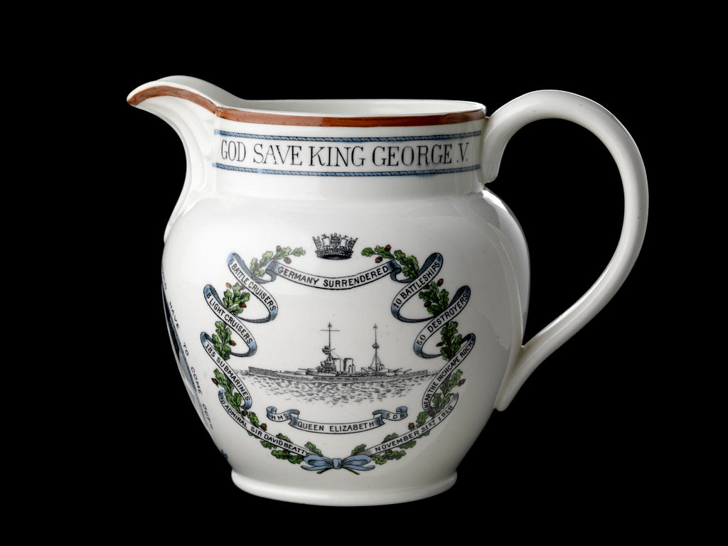 Detail of Jug with moulded lip and loop handle by Collingwood Bros. Ltd.