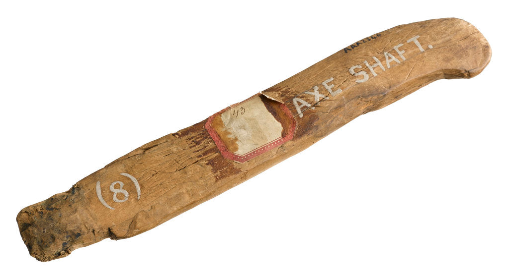 Detail of Axe handle by unknown