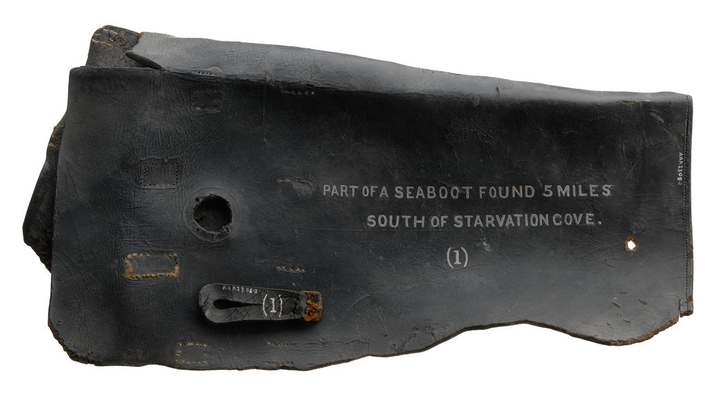 Detail of Sea boot by unknown
