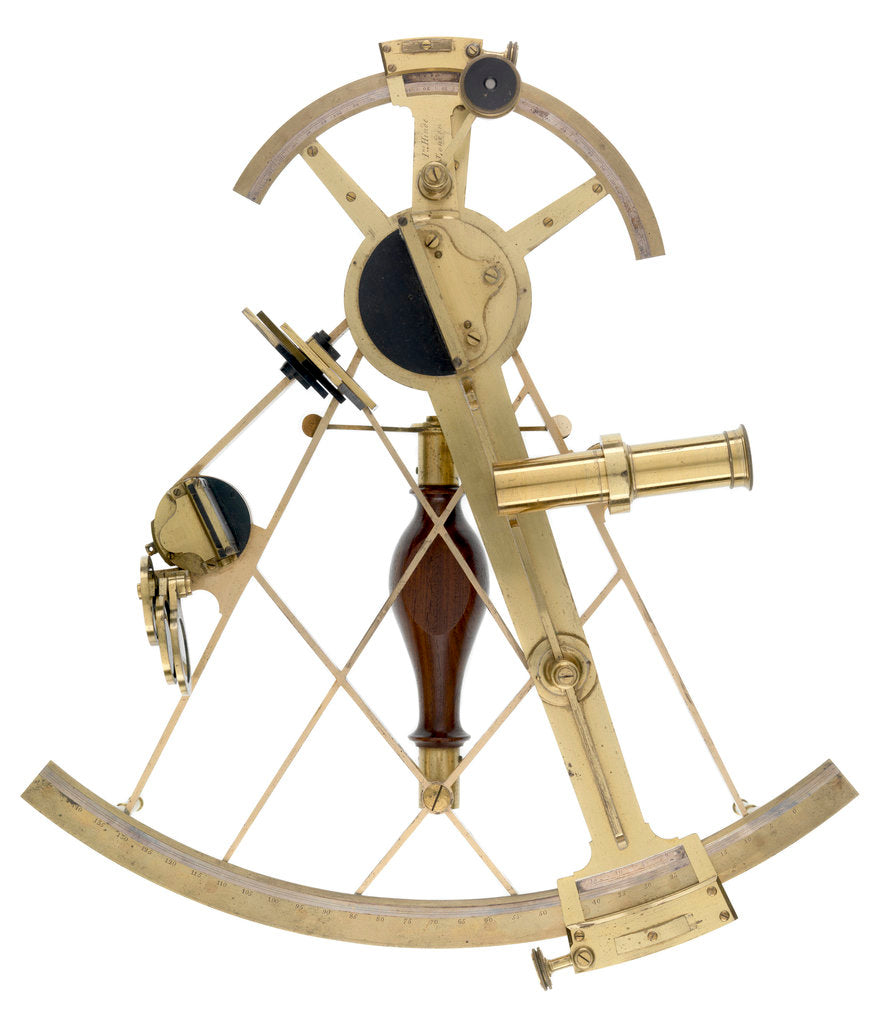 Detail of Hoppe's Improved Sextant by John Hinde