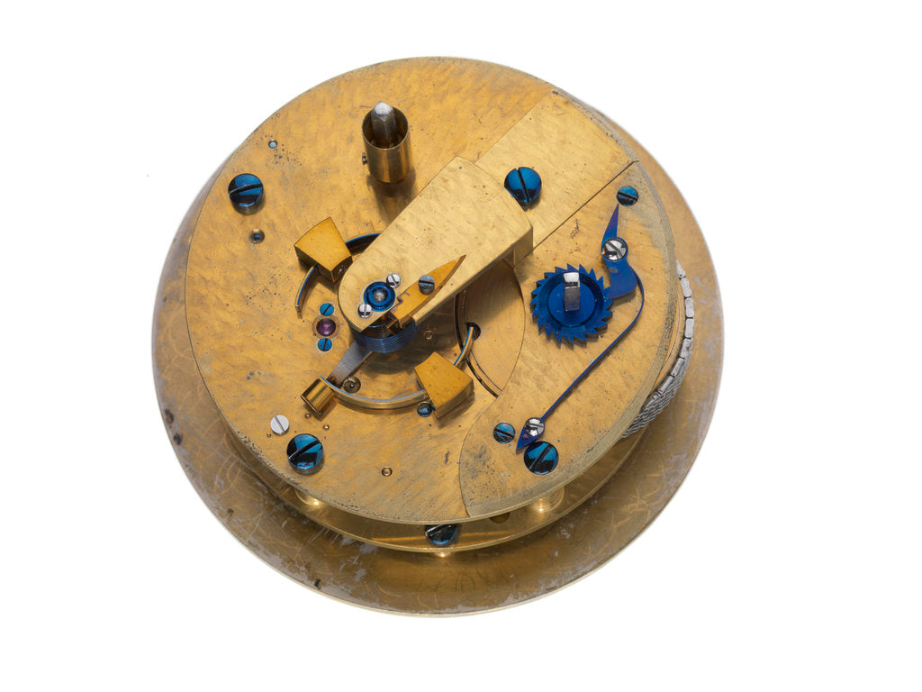 Detail of Marine chronometer by Robert Molyneux