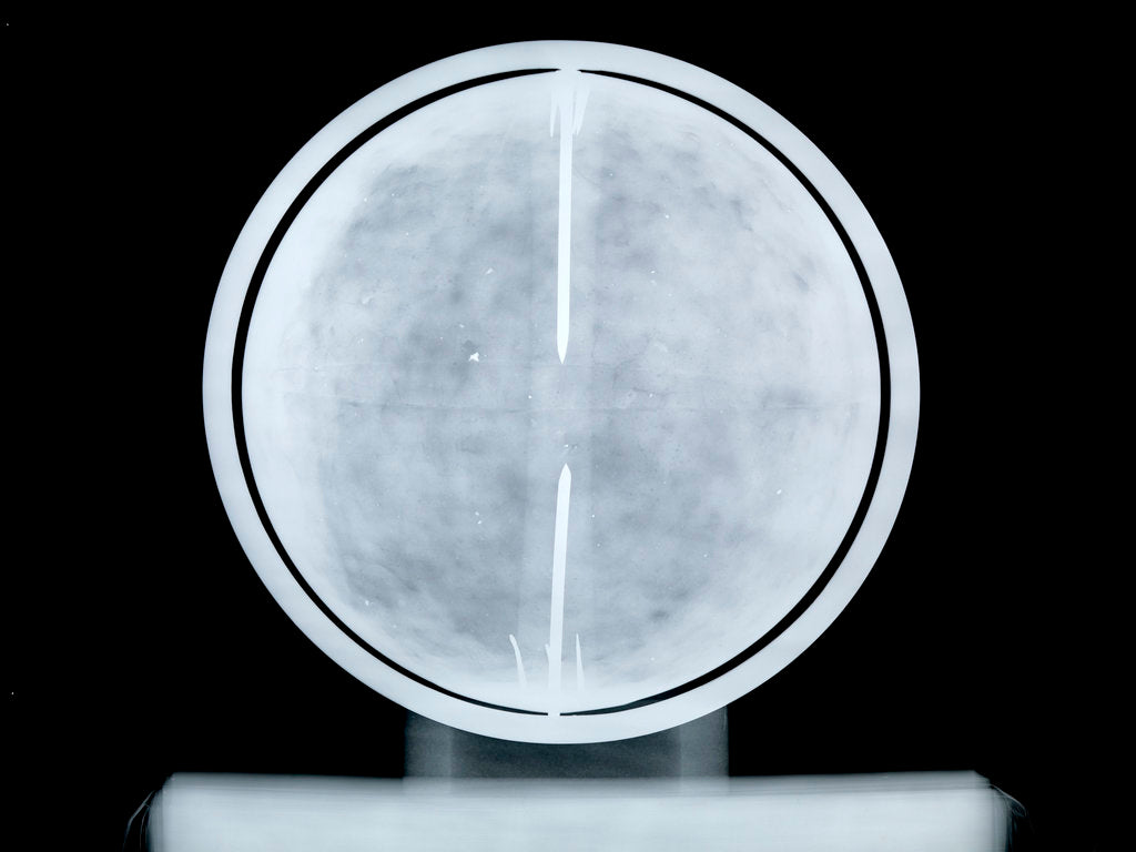 Detail of Globe x-ray by William Bardin