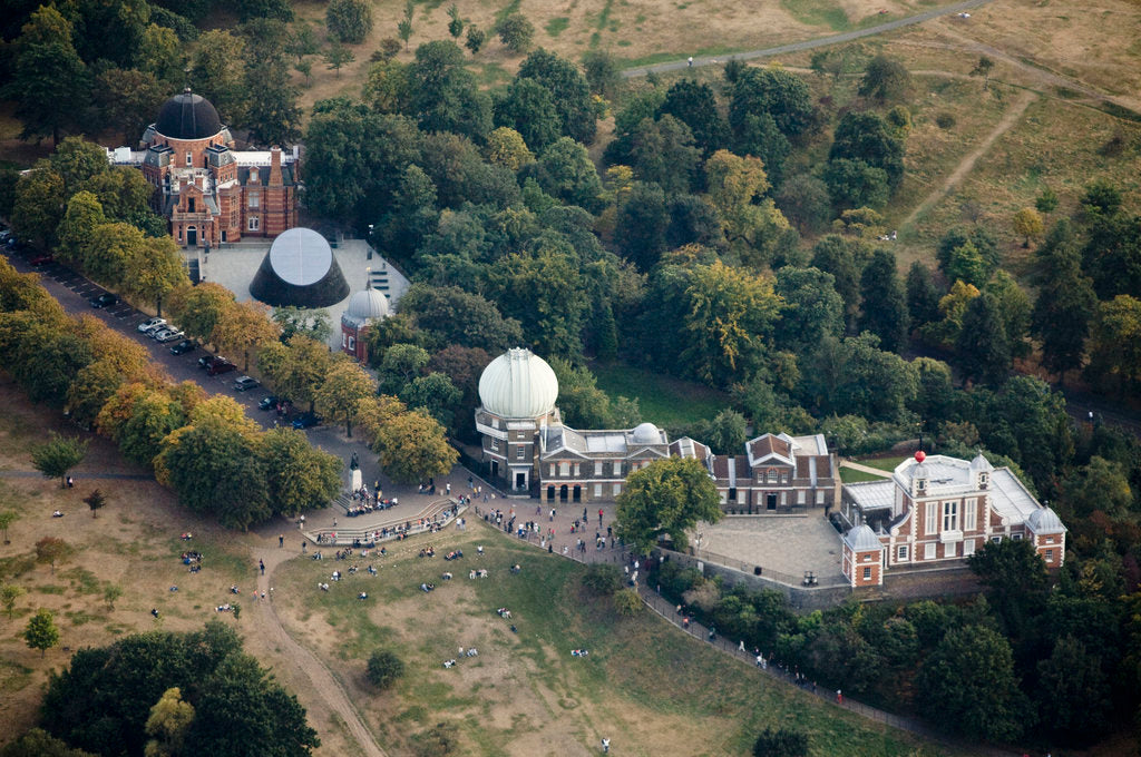Detail of Aerial view of the Royal Observatory, Greenwich by Ben Gilbert