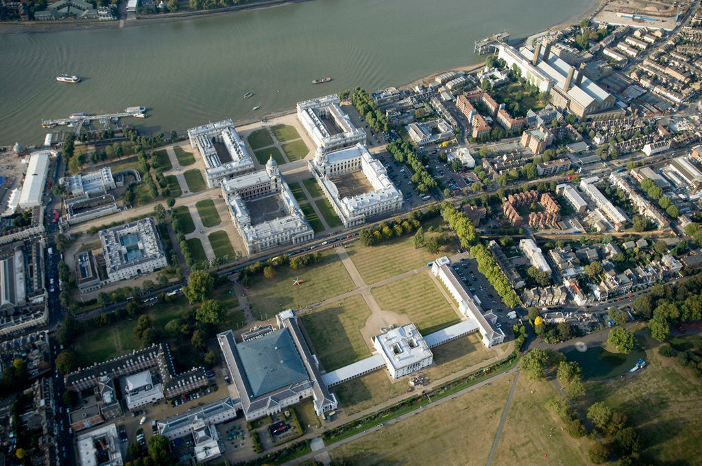 Detail of Aerial view of National Maritime Museum and Queen's House, Greenwich by National Maritime Museum Photo Studio