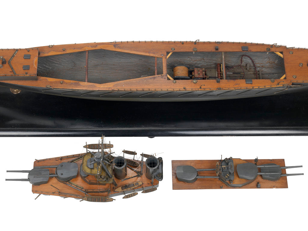 Detail of HMS 'Iron Duke' (1912) by Alfred Graham & Co