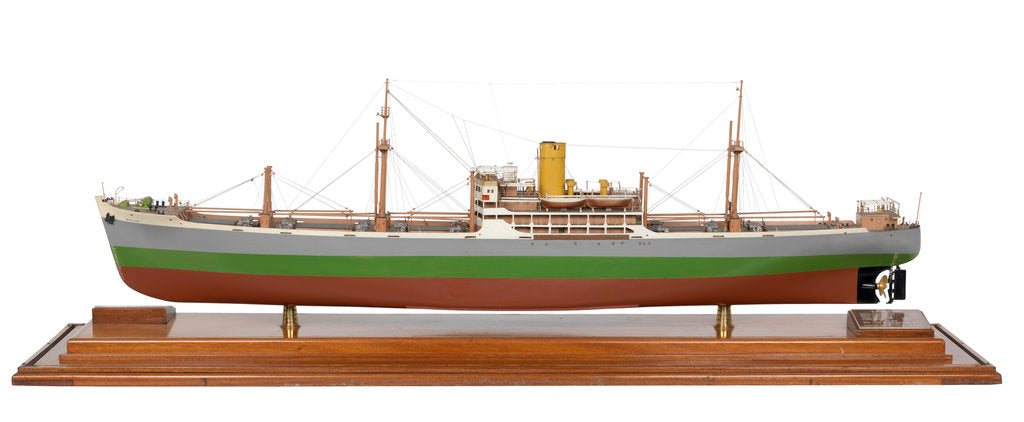 Detail of Model of 'Benalder' (1949) by Charles Connell and Co. Ltd.