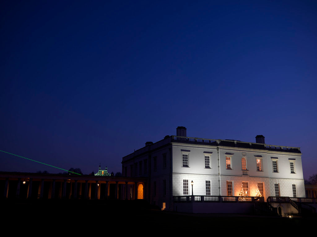 Detail of Night-time view of Queen's House, Greenwich by National Maritime Museum Photo Studio