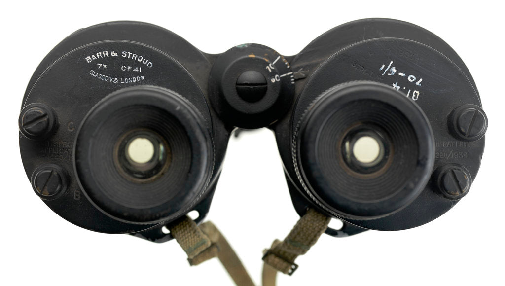 Detail of CF41 Binoculars by Barr & Stroud