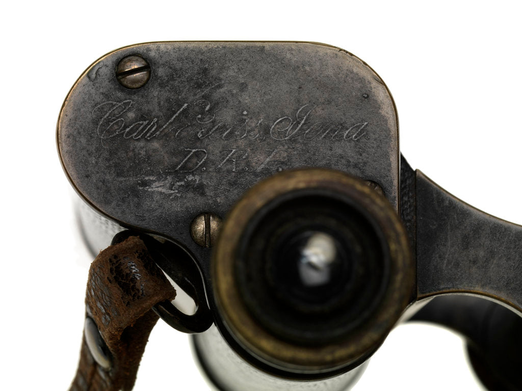Detail of Binoculars by Carl Zeiss