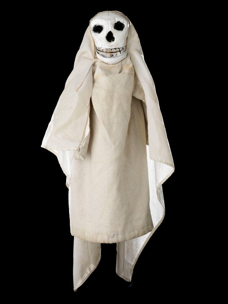 Puppet 'Ghost', part of Punch and Judy set by unknown