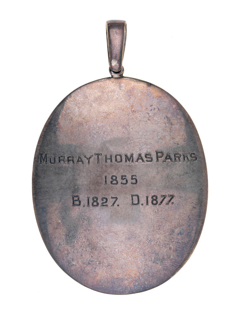 Detail of Commander Murray Thomas Parks (1827-1877) by unknown