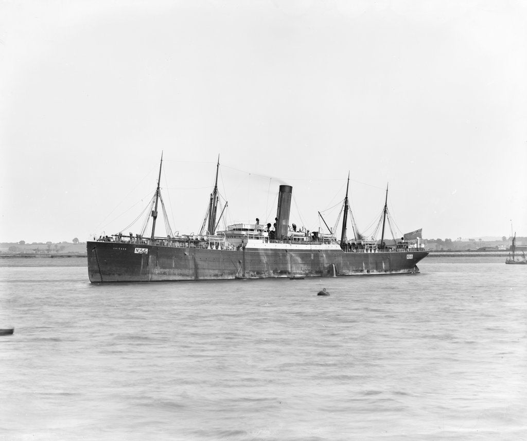 Detail of Photograph of a vessel by unknown