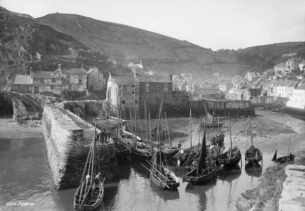 Polperro Harbour, Cornwall by National Maritime Museum