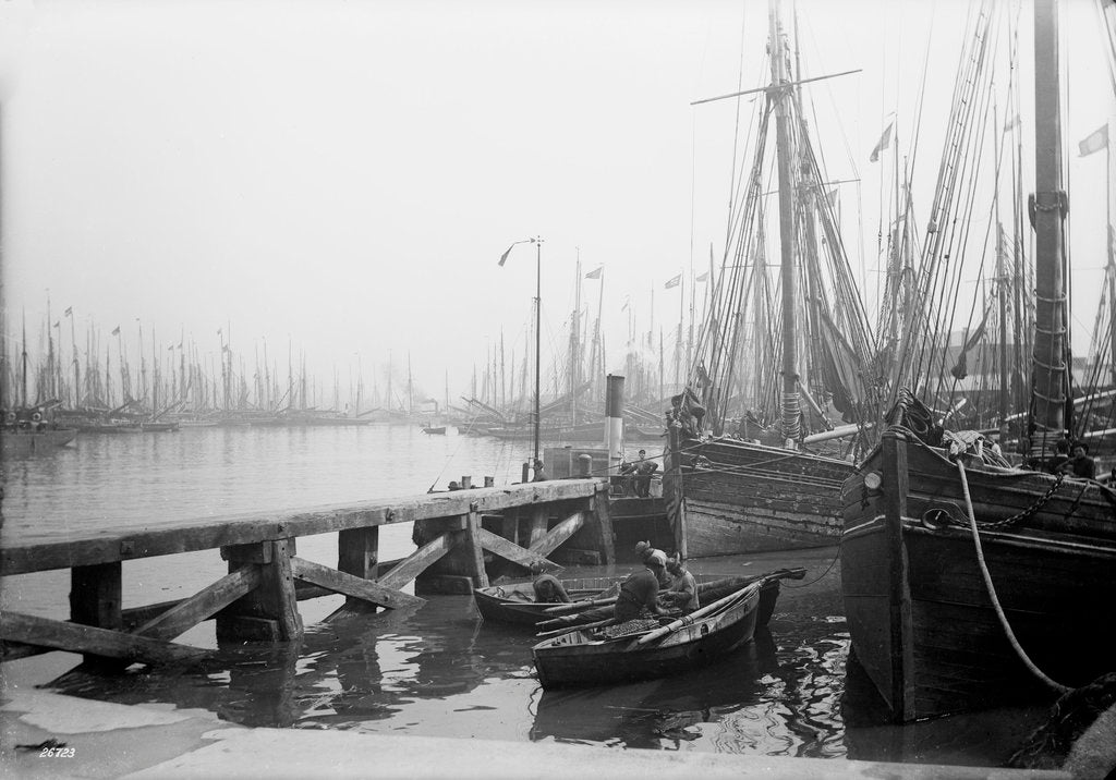 Detail of Fish Dock, Grimsby, Lincolnshire by National Maritime Museum