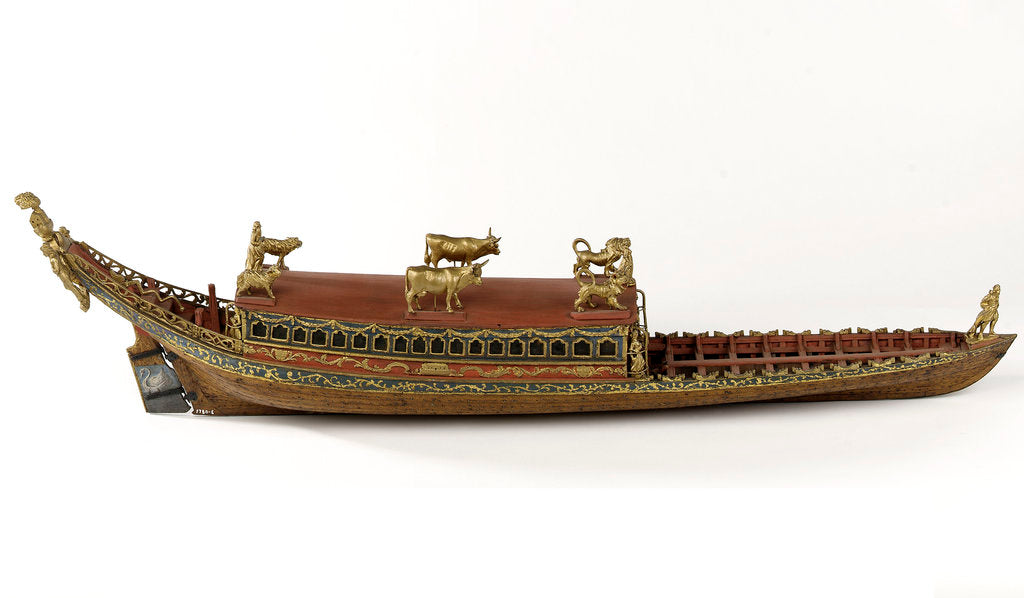 Detail of Ceremonial barge by unknown
