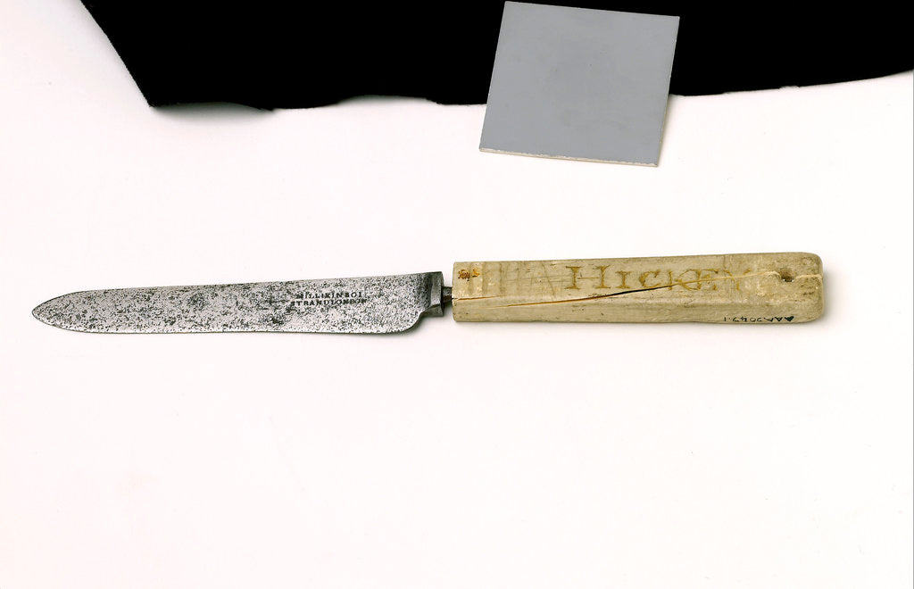 Detail of Knife by Millikin