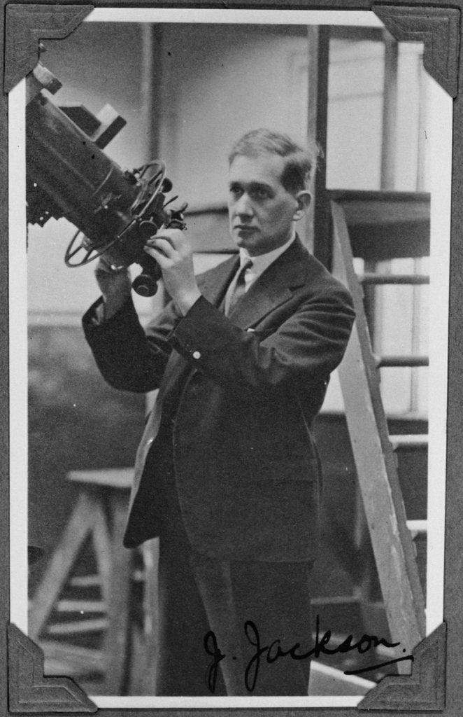 John Jackson (1887-1958), Chief Assistant at the Royal Observatory (1914-1933) by unknown