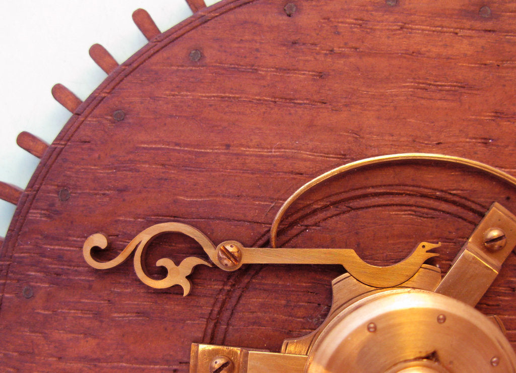 Detail of Harrison's marine timekeeper 'H1' by John Harrison