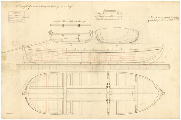 40ft Gunboat (1779); Number 20 (1779)