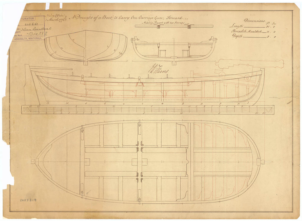 31ft Gunboat (1776)