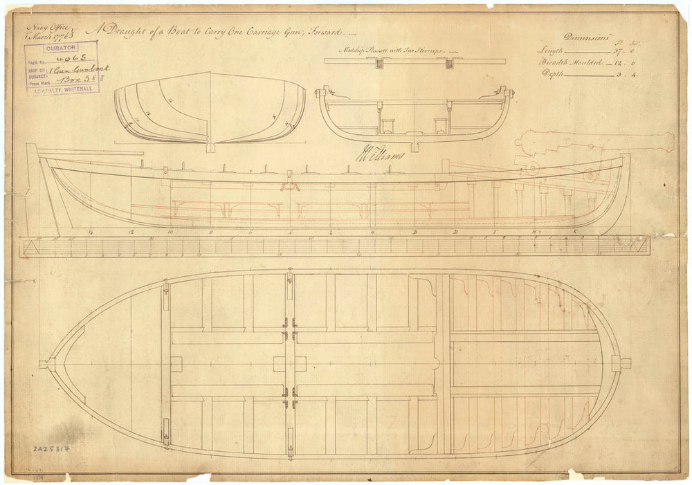37ft Gunboat (1776)