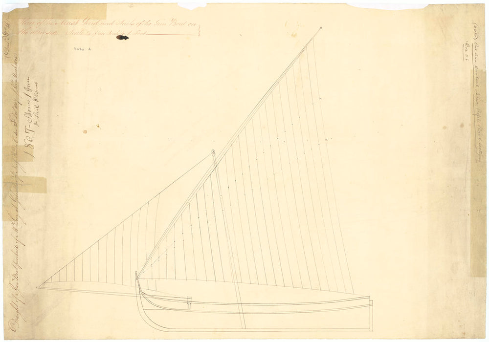 55ft one-gun Gunboat (circa 1808)