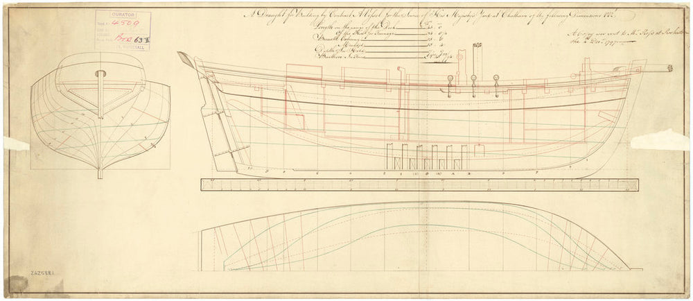 45ft Longboat (1798)