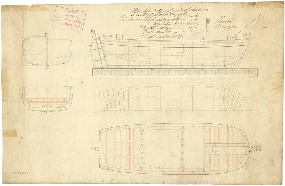 44ft Chain boat (1787)