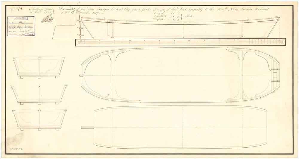 66ft Open Barge (fl. 1821)