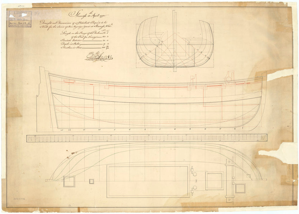 56ft Waterboat (circa 1770)