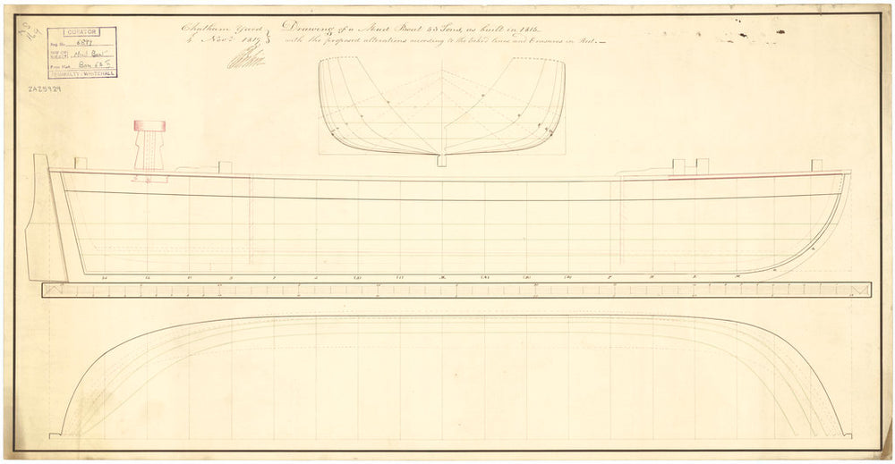 51ft Mud Boat (1815)