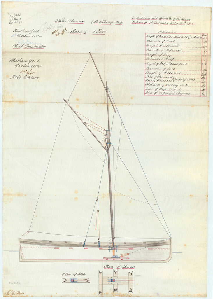 32 ft Pinnace