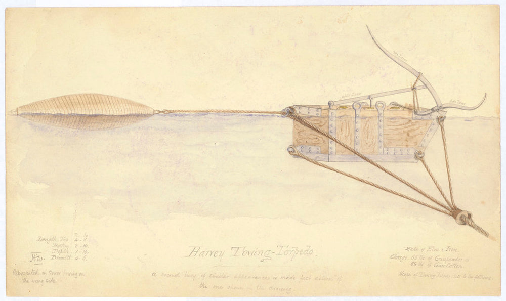 Harvey Towing Torpedo (no date)