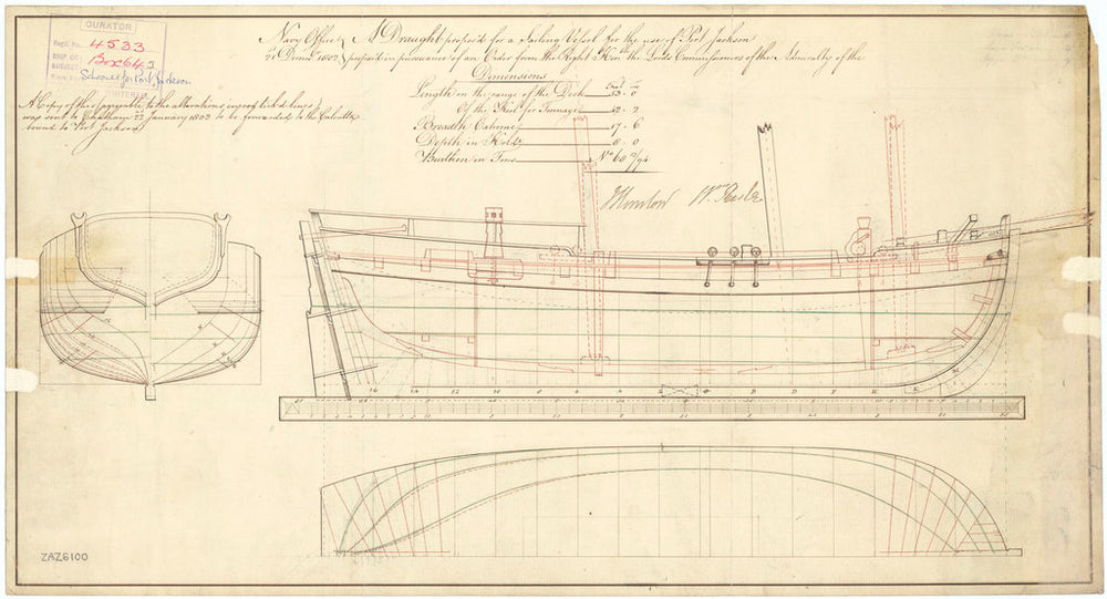 Unnamed 53ft Schooner (1803)