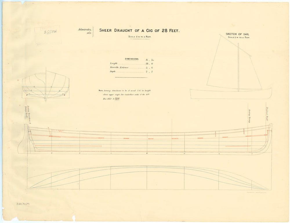 Lines and profile plan