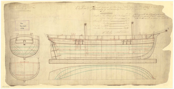 64ft Water Carrier (1806)