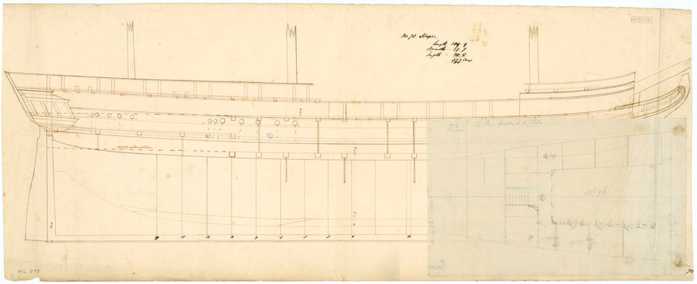 Plan of 'Hope' (1827)