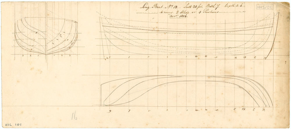 20ft Longboat (1806)