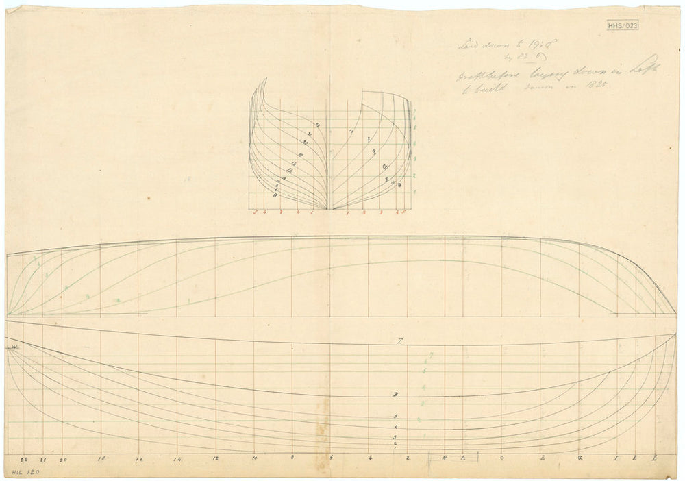 Unnamed 81ft vessel (no date, possibly 1825)