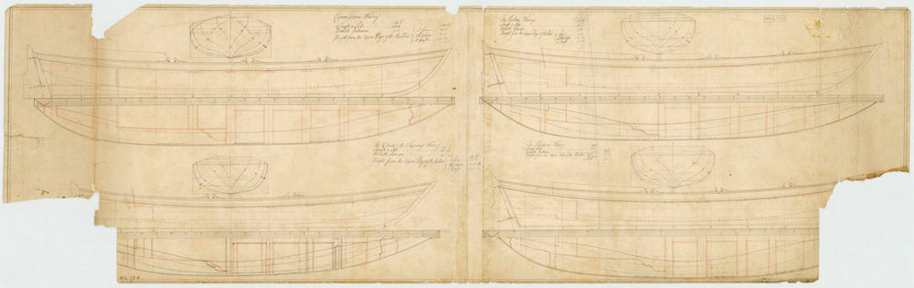28ft Commissioners Wherry; a 26ft Builder's Wherry; a 24ft Clark of Survey's Wherry; and a 26ft Assistance's Wherry