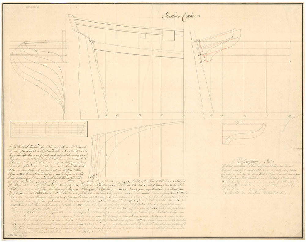 Plan of the 'Sherborne' (1793)