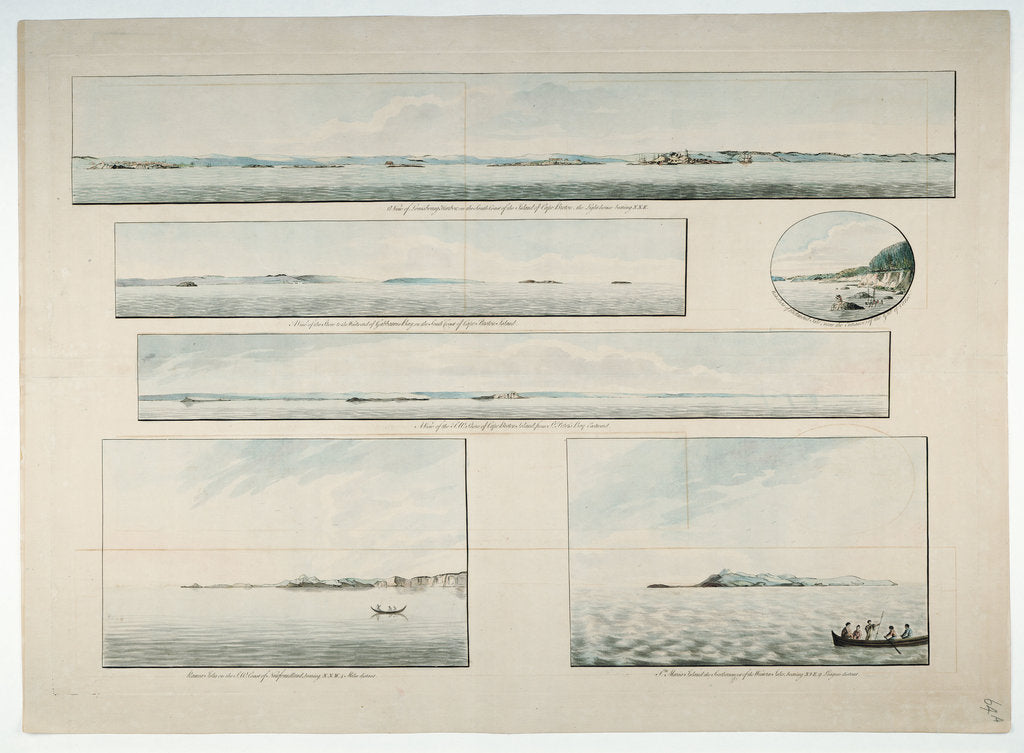 Detail of Six views of Cape Breton Island, etc by Joseph Frederick Wallet Des Barres